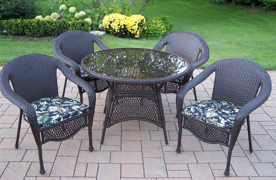 wicker patio furniture set home design 2017